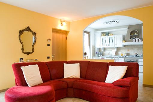 Gli ambienti il soggiorno bna arredamenti - Colori per il soggiorno ...